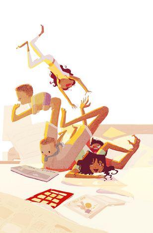 Pascal Campion. Душевные цифровые иллюстрации. Двадцать седьмая