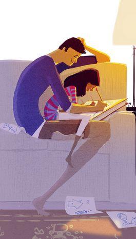 Pascal Campion. Душевные цифровые иллюстрации. Двадцать шестая