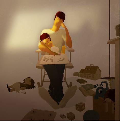 Pascal Campion. Душевные цифровые иллюстрации. Пятдесят первая