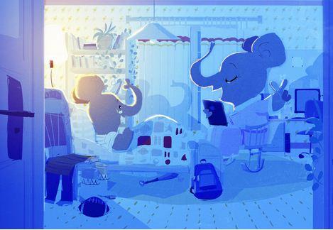 Pascal Campion. Душевные цифровые иллюстрации. Пятнадцатая