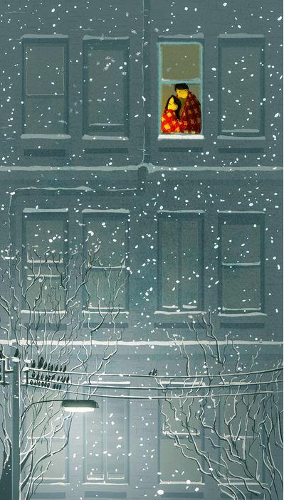 Pascal Campion. Душевные цифровые иллюстрации. Сороковая