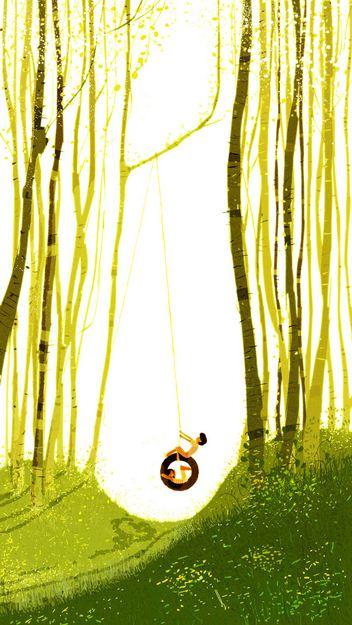 Pascal Campion. Душевные цифровые иллюстрации. Тридцатая