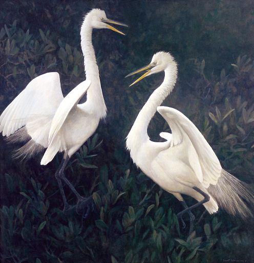 Robert Bateman. Анималистическая живопись. Картина пятая