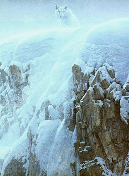 Robert Bateman. Анималистическая живопись. Волк