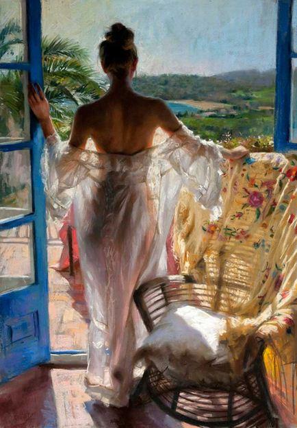 Vicente Romero Redonto. Живопись портреты женщин. Картина четырнадцатая