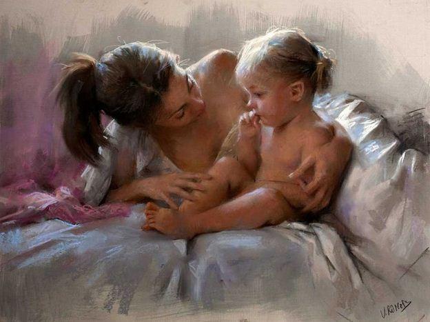 Vicente Romero Redonto. Живопись портреты женщин. Картина девятнадцатая