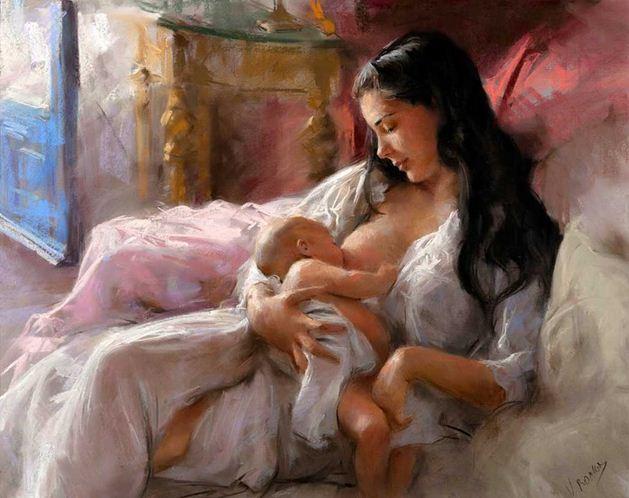 Vicente Romero Redonto. Живопись портреты женщин. Картина двадцать вторая