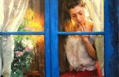 Vicente Romero Redonto. Живопись портреты женщин. Картина седьмая