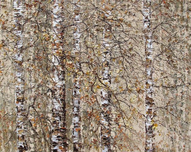 Дмитрий Кустанович. Картины мастихином. Картина ретья