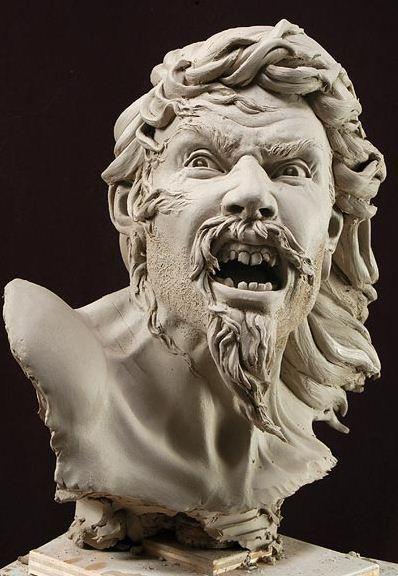Philippe Faraut. Скульптура из глины. Мятеж