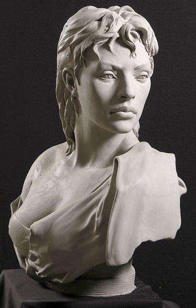 Philippe Faraut. Скульптура из глины. Один из этих дней