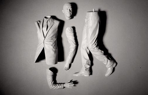 Adam Beane. Мини скульптура. Детали Барака Обама. 2010