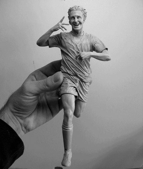 Adam Beane. Мини скульптура. Luca Toni