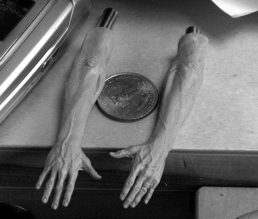 Adam Beane. Мини скульптура. Руки Paolo DiCanio