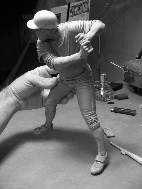 Adam Beane. Мини скульптура. Willie Stargell