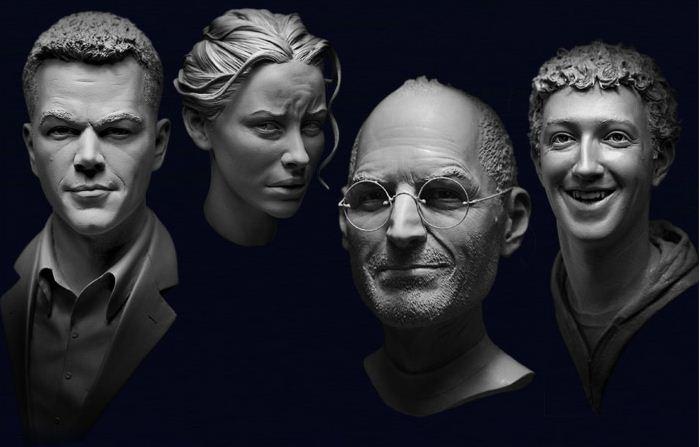 Adam Beane. Мини скульптура