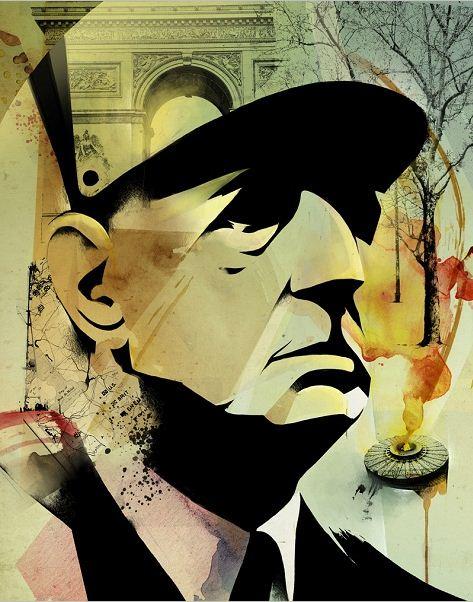 Алексей Курбатов. Цифровые иллюстрации. Генерал де Голль