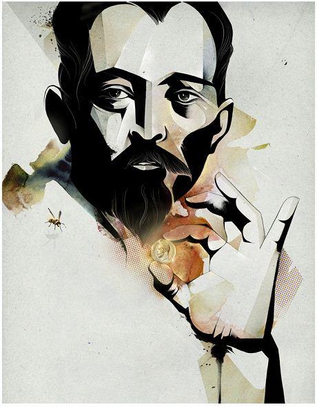 Алексей Курбатов. Цифровые иллюстрации. К отрывку из романа Юрия Арабова Орлеан
