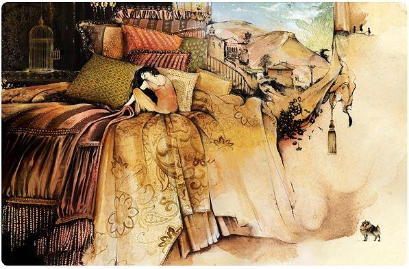 Алексей Курбатов. Цифровые иллюстрации. К рассказу Людмилы Петрушевской Признание в любви