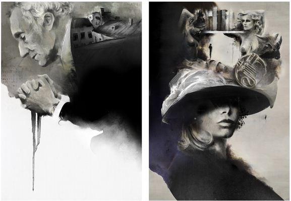 Алексей Курбатов. Цифровые иллюстрации. Поздний брак