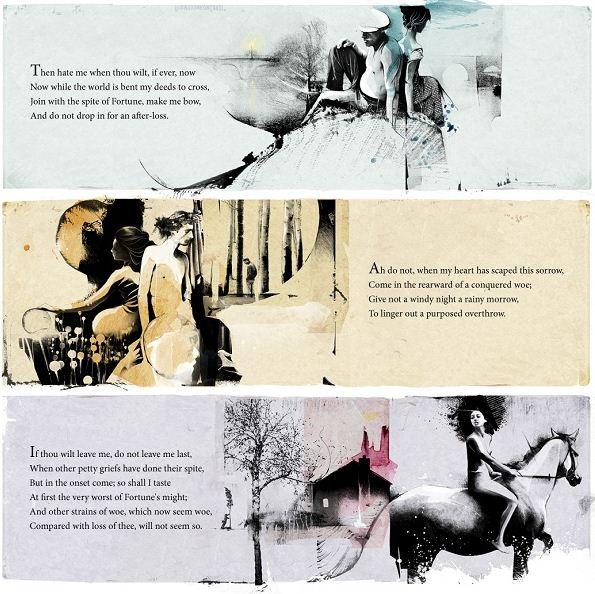 Алексей Курбатов. Цифровые иллюстрации. Шекспир. 90 сонет