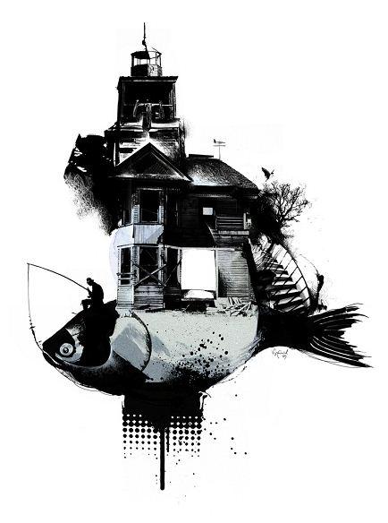 Алексей Курбатов. Цифровые иллюстрации. Troubled Slummer