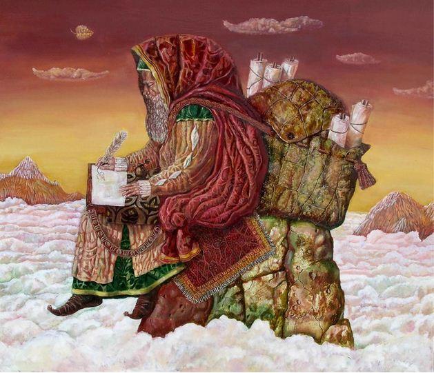 Борис Балахонцев. Интересные картины художников. Двадцатая