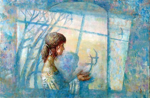 Борис Балахонцев. Интересные картины художников. Пятая