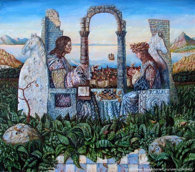 Борис Балахонцев. Интересные картины художников. Семнадцатая