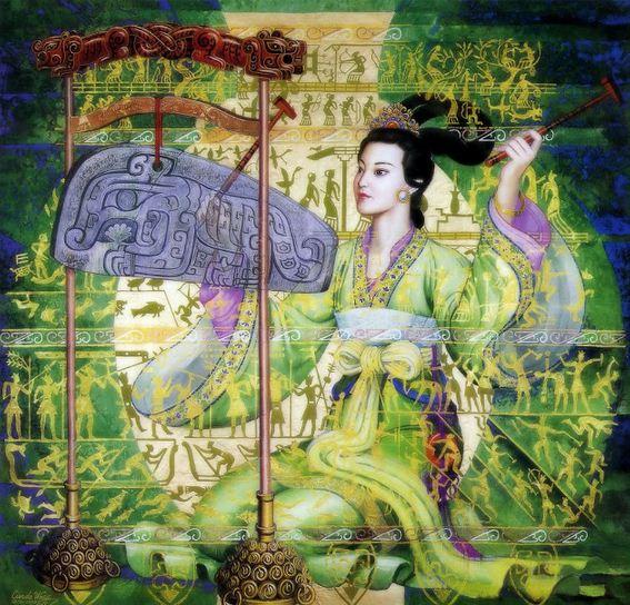 Cunde Wang. Декоративные картины. Двенадцатая