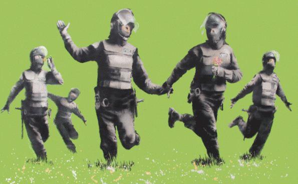 Художник граффити Бэнкси. Двадцать второй