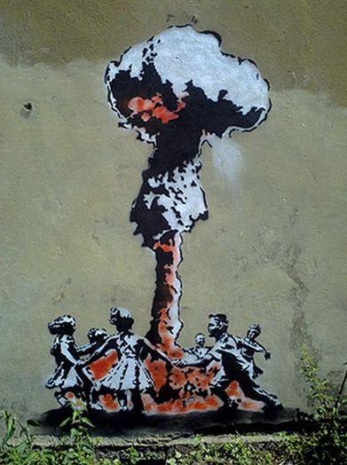 Художник граффити Бэнкси. Сюжет Двадцать пятый