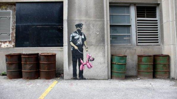 Художник граффити Бэнкси. Сюжет четвертый