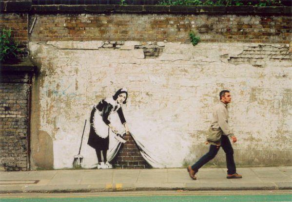 Художник граффити Бэнкси. Сюжет четырнадцатый