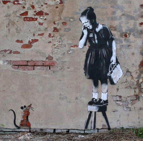 Художник граффити Бэнкси. Сюжет двадцать первый
