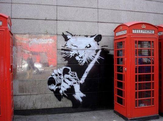 Художник граффити Бэнкси. Сюжет двадцать шестой