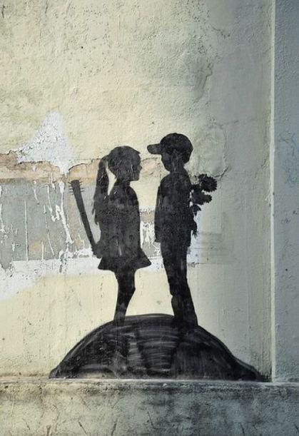 Художник граффити Бэнкси. Сюжет двадцать восьмой