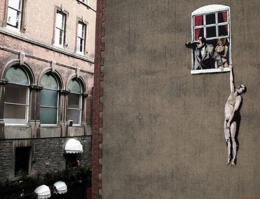 Художник граффити Бэнкси. Сюжет двадцать второй