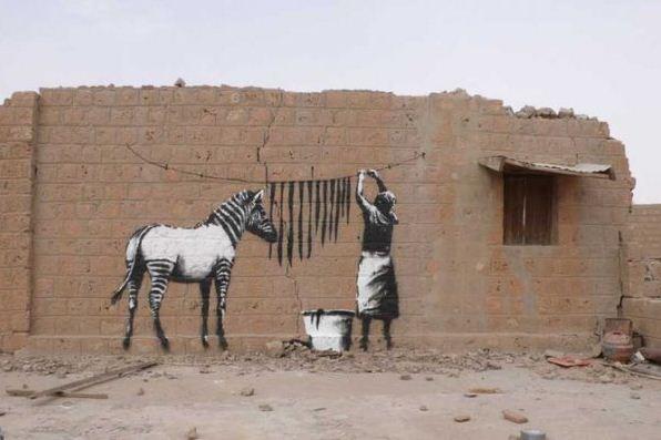 Художник граффити Бэнкси. Сюжет одинадцатый