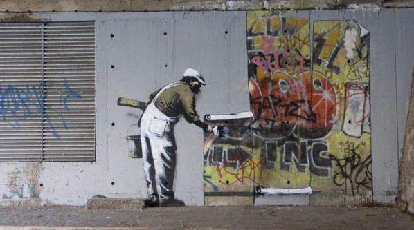 Художник граффити Бэнкси. Сюжет пятый