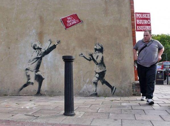 Художник граффити Бэнкси. Сюжет шестнадцатый