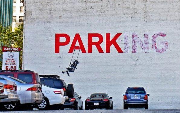 Художник граффити Бэнкси. Сюжет восьмой