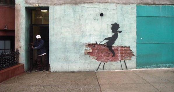 Художник граффити Бэнкси. Сюжет второй