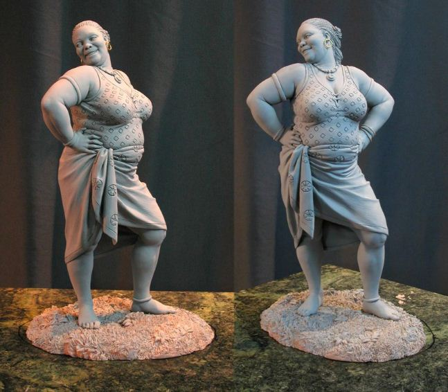Mark Newman. Мелкая скульптура. Big Sexy