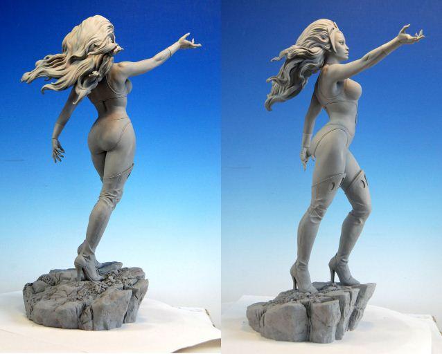 Mark Newman. Мелкая скульптура. Четвертая