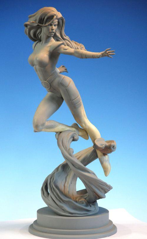 Mark Newman. Мелкая скульптура. Jean Grey