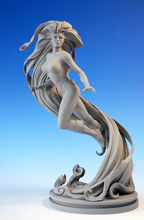 Mark Newman. Мелкая скульптура. Медуза