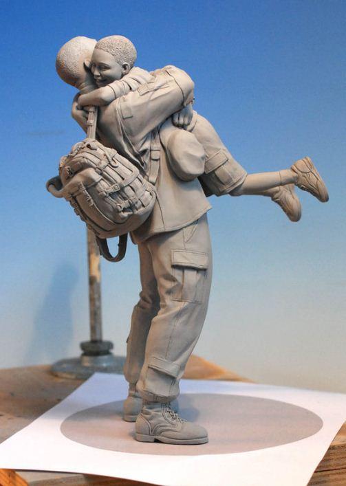 Mark Newman. Мелкая скульптура. Пятая