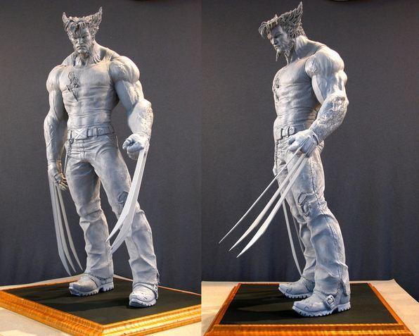 Mark Newman. Мелкая скульптура. Росомаха