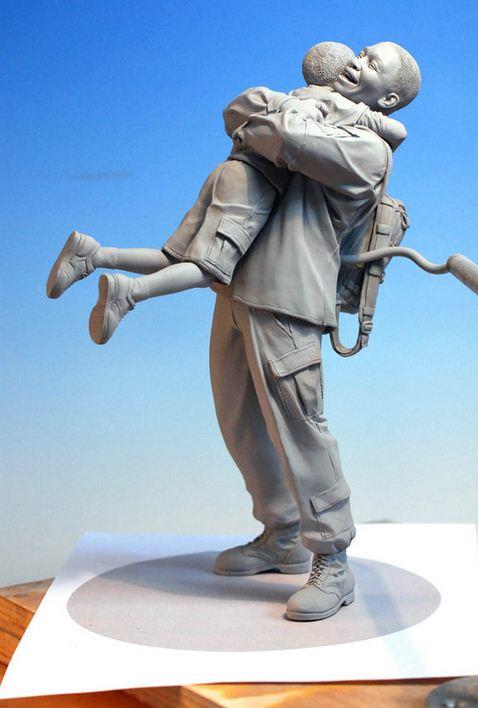 Mark Newman. Мелкая скульптура. Шестая